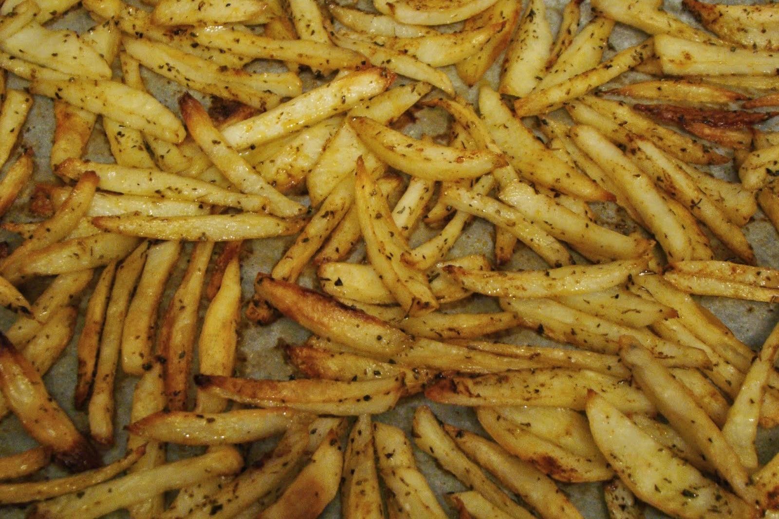 Πατάτες σαν τηγανητές