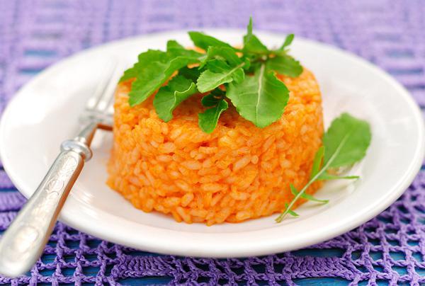 Ρύζι με φρέσκια ντομάτα
