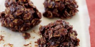 Βραχάκια σοκολάτας με βρώμη
