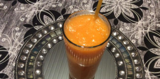 smoothie με μήλο και καρότο