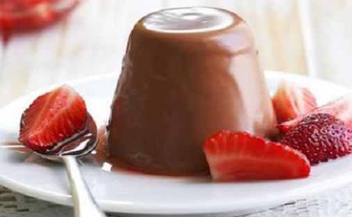 Πανακότα σοκολάτα !