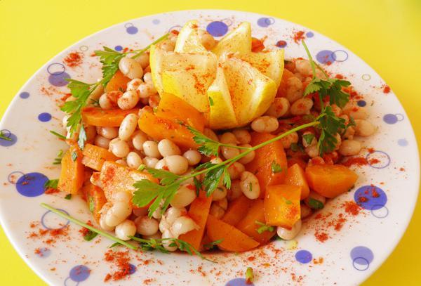 Φασόλια σαλάτα