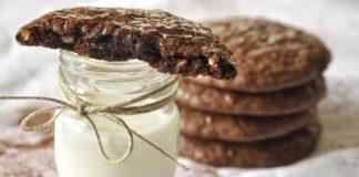 Σοκολατένια cookies χωρίς αλεύρι και βούτυρο