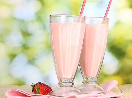 Milkshake φράουλας