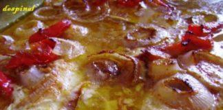 Fillet o' fish with Orange sause