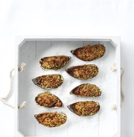 Μύδια στο ταψί