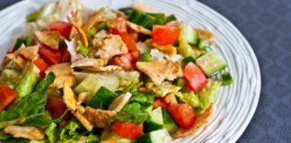 Πολύχρωμο πιάτο λαχανικών